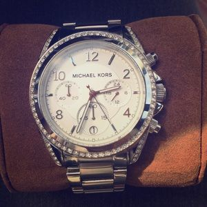 Michael Kors Women's Blair Silver Watch
