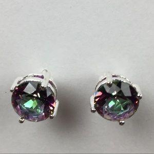 Jewelry - 🍃THANKFUL🍁NWOT Fire Topaz .925 Earrings
