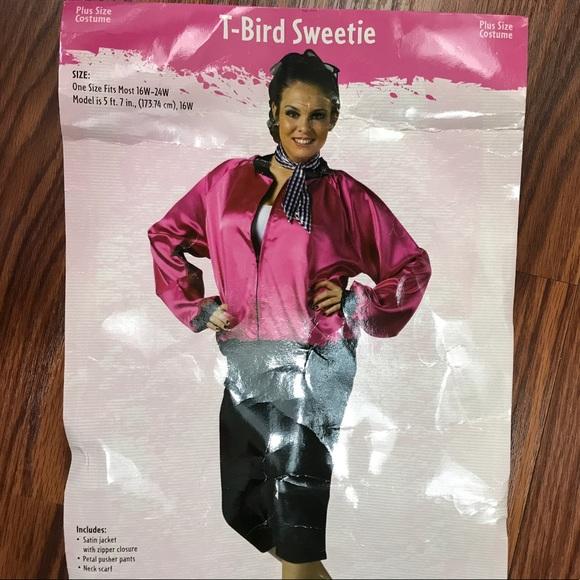 4bb096c0d3b EUC Halloween Costume 50s Pink Ladies. Plus size