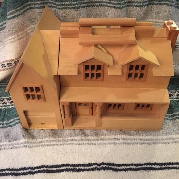 Melissa Doug Fold And Go Doll House