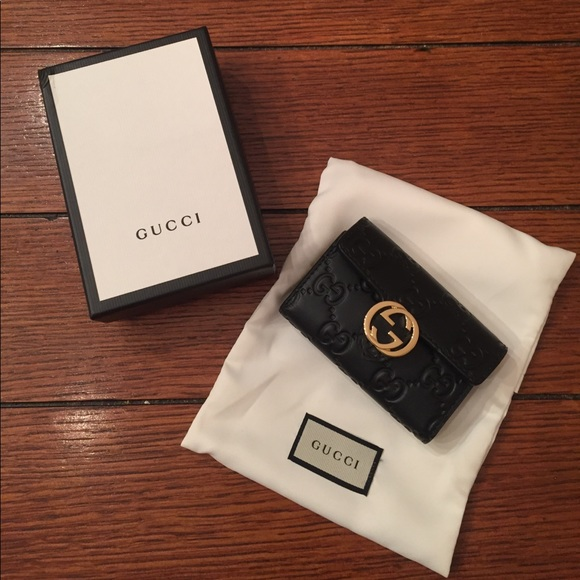 Gucci 6 Ring Key Case Marmont Gg