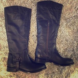 Dolce Vita 8 1/2 Tall riding boots with strap