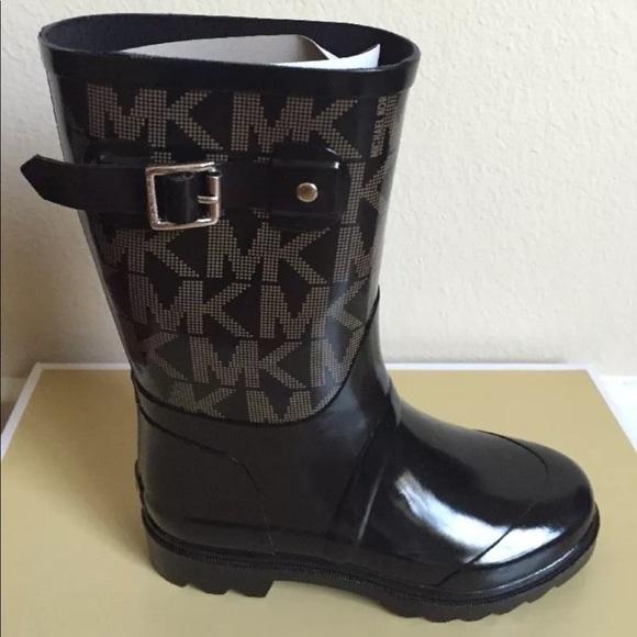 women's rain boots michael kors