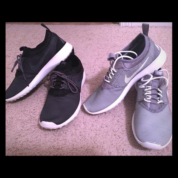 le scarpe nike juvenate scarpe nere poshmark due dimensioni 75
