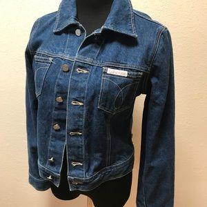 Vintage Jackets & Coats - Vintage Calvin Klein Denim Jean jacket