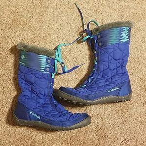 Girls Columbia Minx Mid Boots
