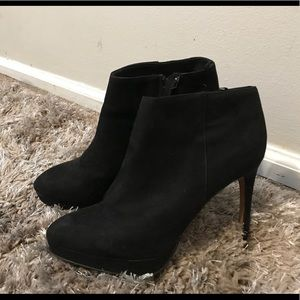 All black H&M booties
