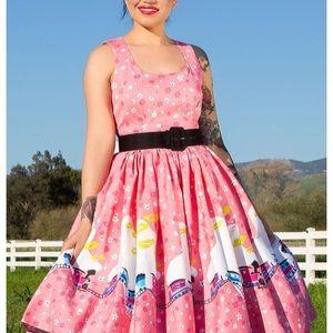 Mary Blair Train Dress