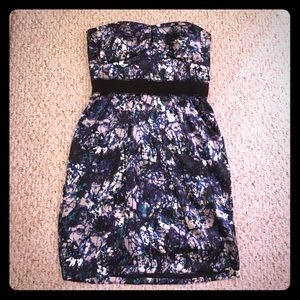 Max and Cleo strapless dress. Size 8