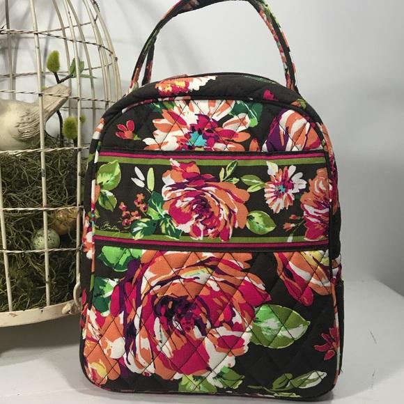 0e888b13cf Vera Bradley English Rose Lunch Bag. M 59d9857599086aee7d0730f2