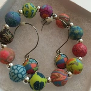 Jewelry - Beautiful Colorful Bracelet and Earrings Set