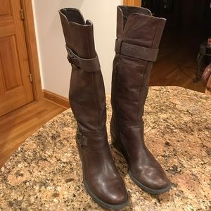 Kelly & Katie Brown Boots