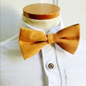 Other - Velvet bow tie,brown bow ties,men bow tie,kid tie
