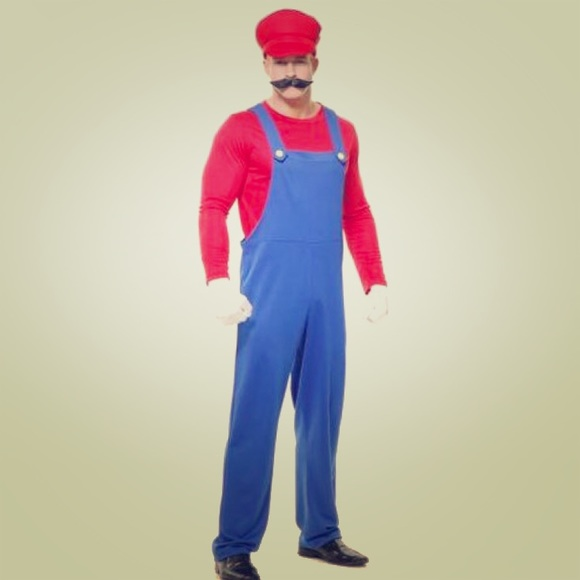 pete the plumber adult halloween costume l