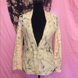 Women's XXS BCBGeneration Pink Floral Blazer