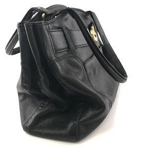 Woman's black Cole Haan satchel