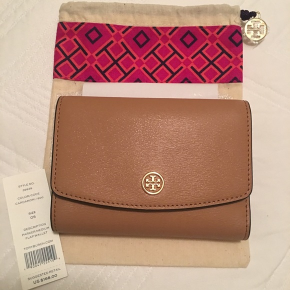 283ae5613938 Tory Burch Parker Medium Flap Wallet. M 59d999d83c6f9f9dac07c21e. Other Bags  ...