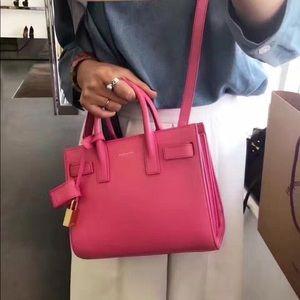 7a75d1f1d0 Saint Laurent Bags | Final Pricesmall Sac De Jour Bag In Bubblegum ...