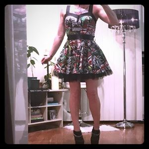 💀Closet Clearout💀Pin up zombie dress