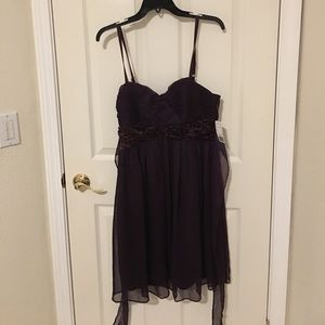 NEW - Eggplant purple dress from Forever 21