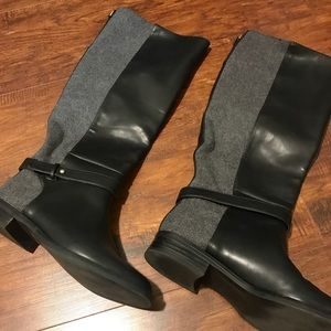 Zara Basic Knee High Riding Boots