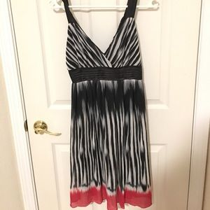 Striped chiffon dress from Forever 21 - size L
