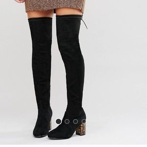 Knee high boots 7.5