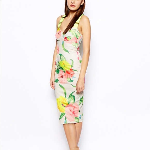 Ted Baker London Dresses & Skirts - TED BAKER floral dress.  Worn ONCE! PERFECT!