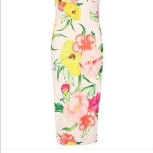 Ted Baker London Dresses - TED BAKER floral dress.  Worn ONCE! PERFECT!