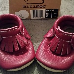 Other - Baby minimoc moccasins nwto