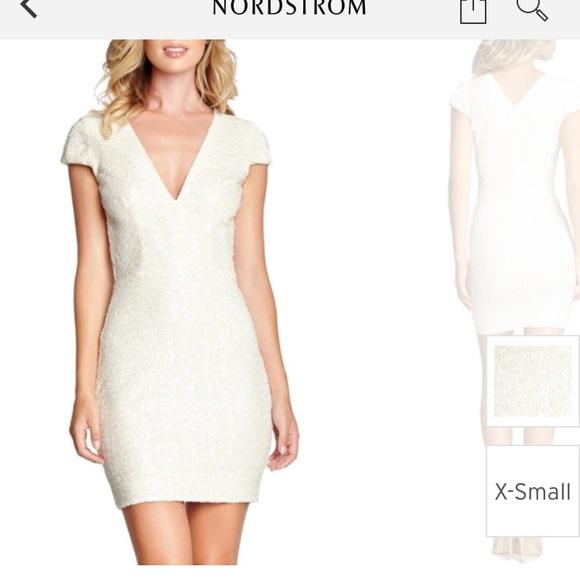 a76cb7228b38 Dress the Population Dresses & Skirts - Dress the population zoe sequin  mini dress - xs
