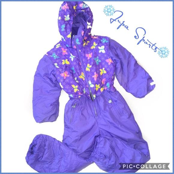 671ec6ec8 Jupa Sports One Pieces   Girls One Piece Snowsuit Sz 6x7   Poshmark