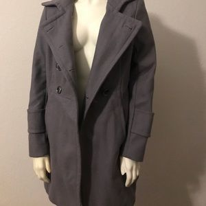 Kenneth Cole gray trench coat
