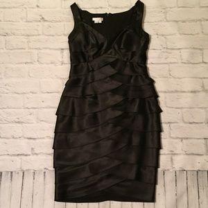 Black Layered Cocktail Dress