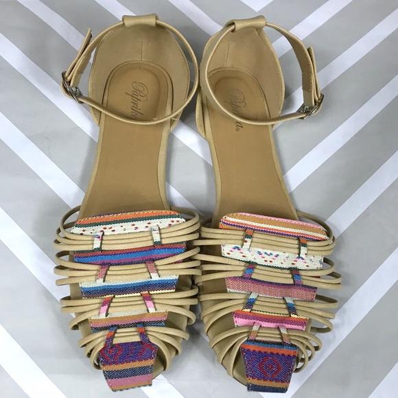 ✂️ Paprika sandals
