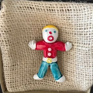Jewelry - OH, NO! IT'S MR. BILL vintage pin SNL 1980s RARE!