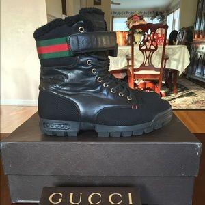 dac850afa26 Gucci Shoes - Gucci Winter Boots Sz 6 7G