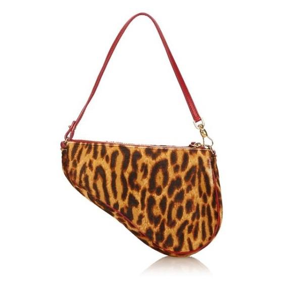 4cf6d23cba52 Christian Dior Handbags - Christian Dior leopard bag