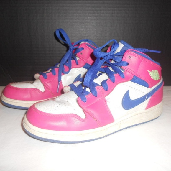 promo code 78246 3a67e Nike Air Jordan 1 High Top Shoes Youth Size 6