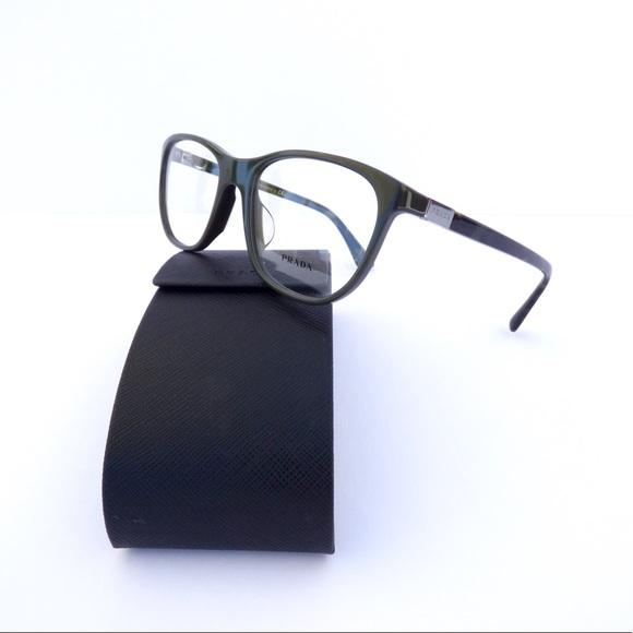 8456fe907bd ... Prada Dark Green Eyeglasses! M 59dc518dc6c7955d4700d658. Other  Accessories ...