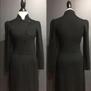 VTG St. John Santana Knit Dress w/ side pockets