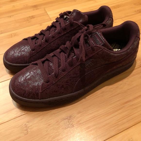 New Puma Suede Remastered Burgundy Size 9.5