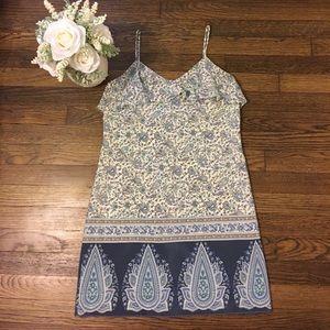 TIBI  Mini Cocktail 100% Silk Dress