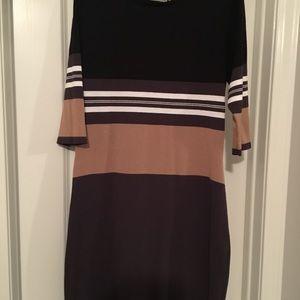 Striped Lightweight Sweaterdress
