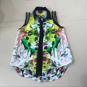 Target floral blouse