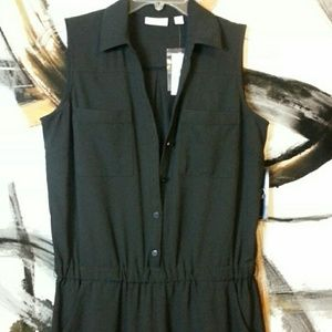 New York & Company Black Romper