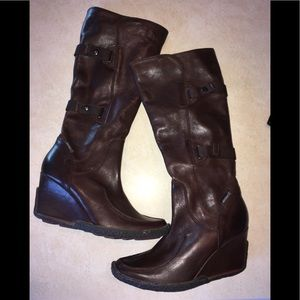 87cdd2deaaf BRONX Shoes - 🌻Bronx NEW sz38 APRIL brown leather boots. Comfy!