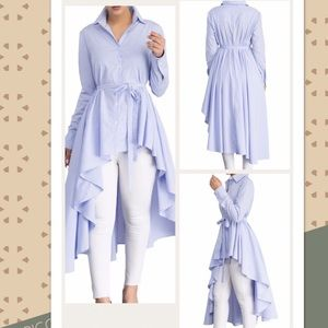 Tops - 🎀CUte Chic high low style button down🎀