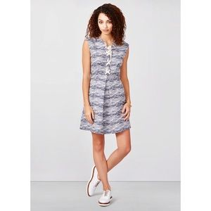 RACHEL Rachel Roy Tweed Lace Up Dress