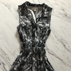 COTTON ON black and white print mini-dress